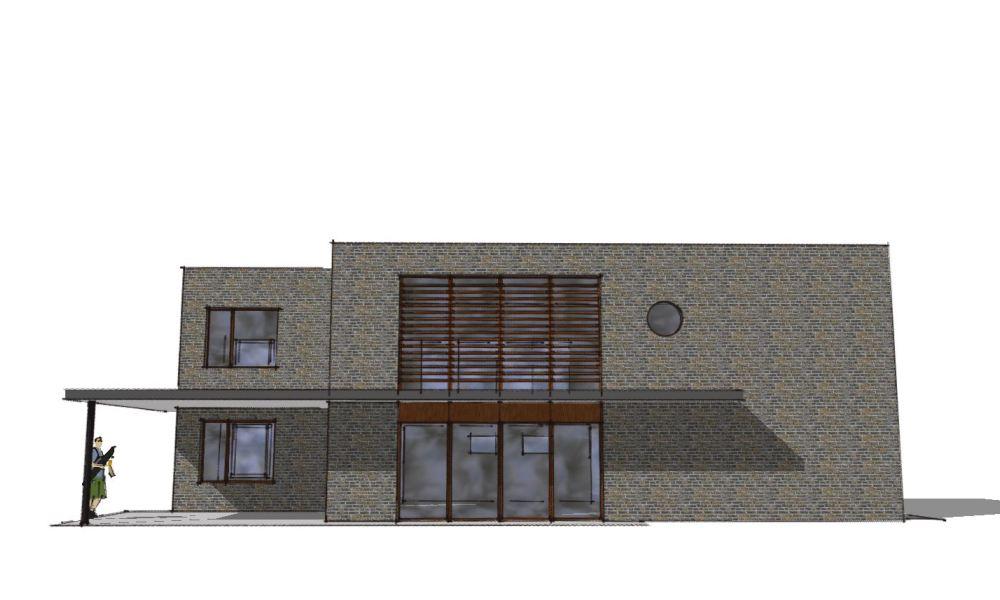Arkitekttegnet hus - Arkinaut Arkitekt- og Byggerådgivning Aps - Villa Veronica 04
