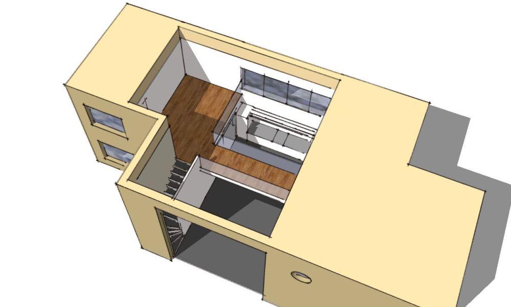 Arkitekttegnet hus - Arkinaut Arkitekt- og Byggerådgivning Aps - Villa Veronica 06