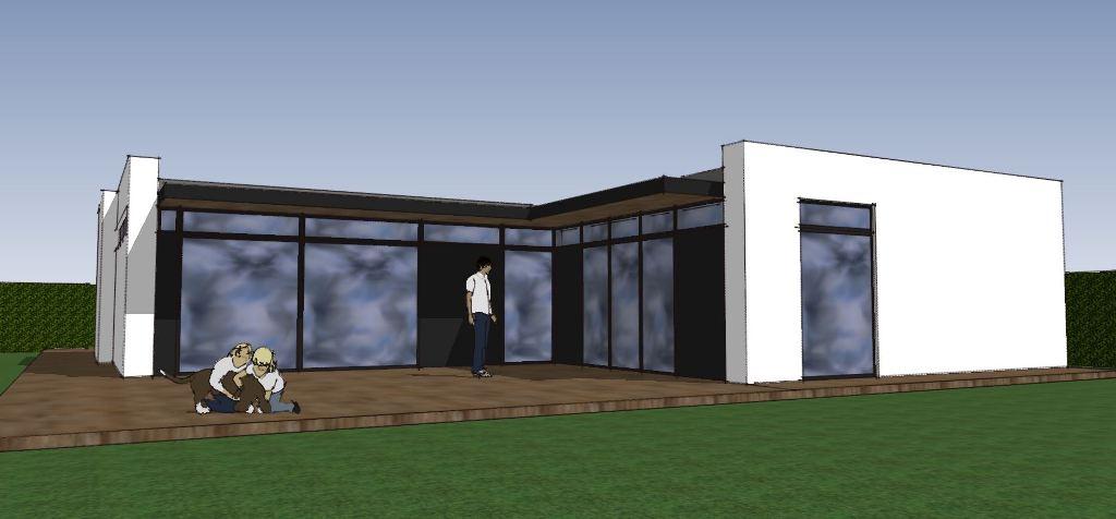 Etplans arkitekttegnet hus - Villa Miranda - Arkunaut Arkitekt- og byggerådgivning Aps 1