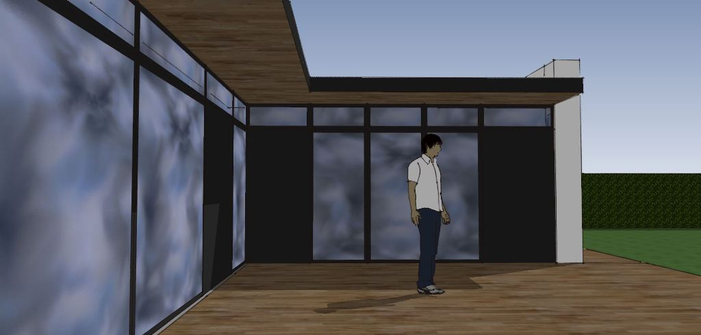 Etplans arkitekttegnet hus - Villa Miranda - Arkunaut Arkitekt- og byggerådgivning Aps 4
