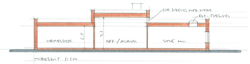 Arkitekttegnet hus, funkisstil - Arkinaut Arkitekt- og byggerådgivning aps 4