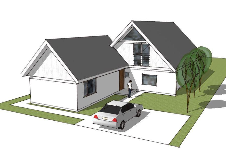 Tilbygning i samme stil - Arkinaut Arkitekt- og byggerådgivning Aps 01