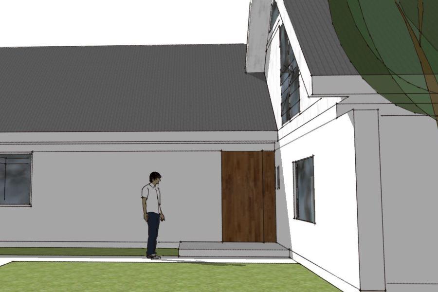 Tilbygning i samme stil - Arkinaut Arkitekt- og byggerådgivning Aps 06
