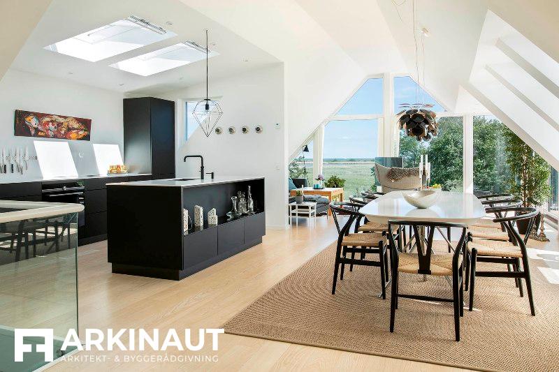 Ny første sal med udsigt - Arkinaut Arkitekt- og byggerådgivning ApS
