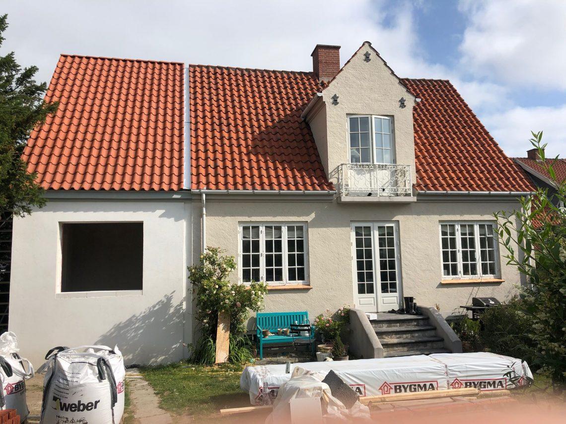 Tilbygning til ældre villa - Arkinaut Arkitekt- og byggerådgivning ApS