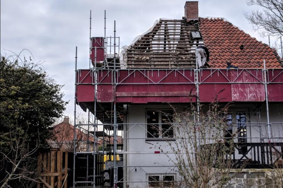 Renovering af tag - Arkinaut Arkitekt- og Byggerådgivning Aps