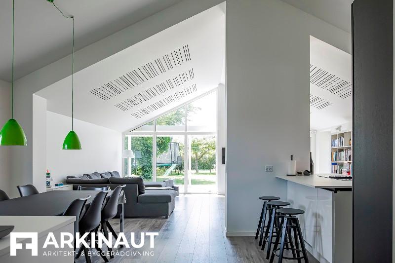 Tilbygning som forlængelse af eksisterende hus - Arkinaut Arkitekt- og byggerådgivning ApS 6