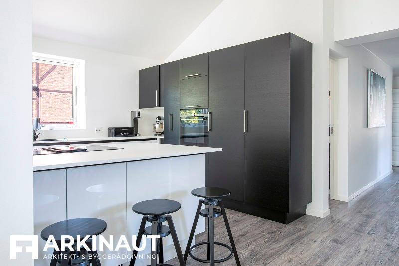 Tilbygning som forlængelse af eksisterende hus - Arkinaut Arkitekt- og byggerådgivning ApS 5