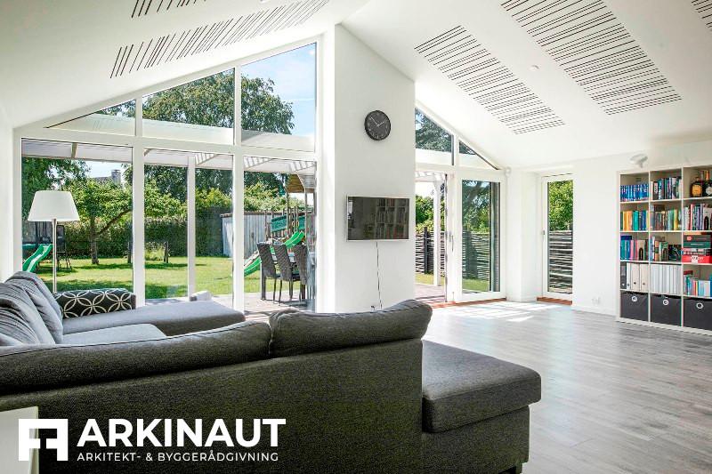 Tilbygning som forlængelse af eksisterende hus - Arkinaut Arkitekt- og byggerådgivning ApS 4