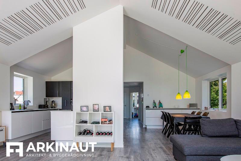 Tilbygning som forlængelse af eksisterende hus - Arkinaut Arkitekt- og byggerådgivning ApS 3