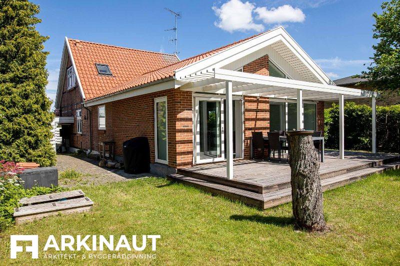 Tilbygning som forlængelse af eksisterende hus - Arkinaut Arkitekt- og byggerådgivning ApS 2