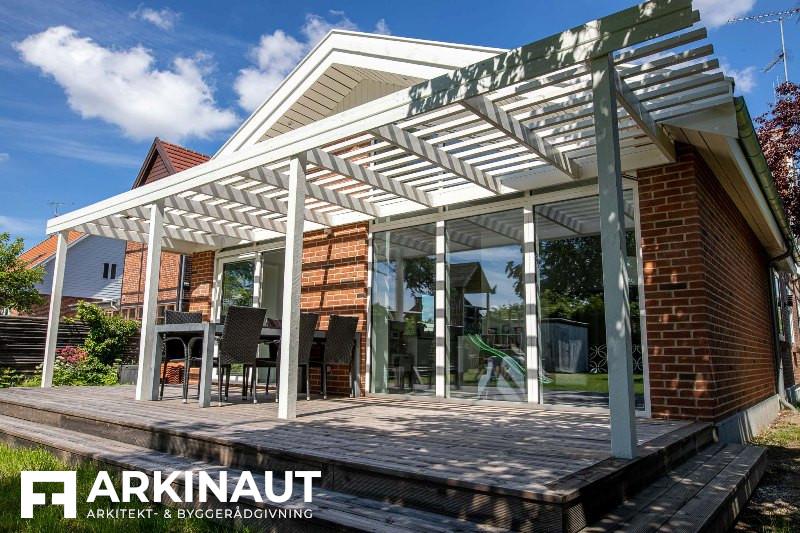 Tilbygning som forlængelse af eksisterende hus - Arkinaut Arkitekt- og byggerådgivning ApS