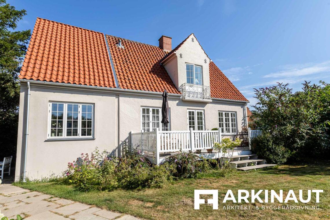 Tilbygning til symmetrisk ældre villa - Arkinaut Arkitekt- og byggerådgivning ApS 2