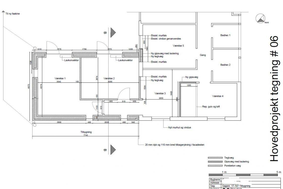 Tilbygning til typehus - Arkinaut Arkitekt- og byggerådgivning Aps 01