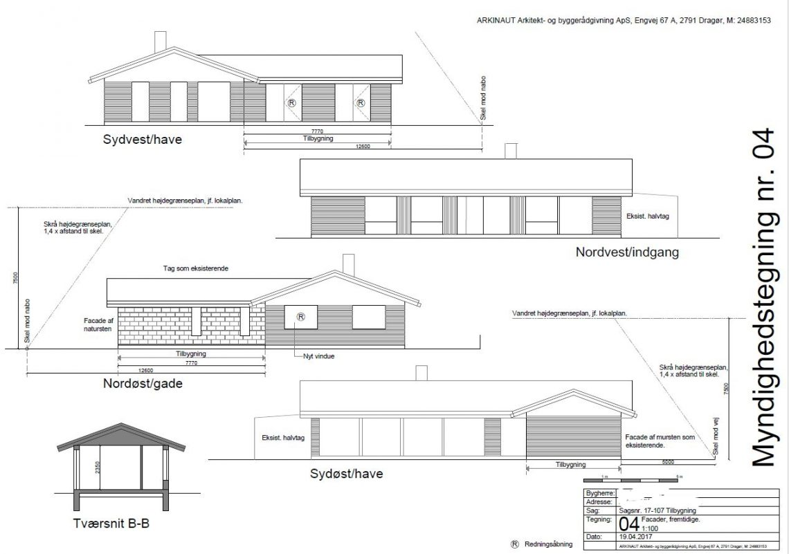 Tilbygning til typehus - Arkinaut Arkitekt- og byggerådgivning Aps 02