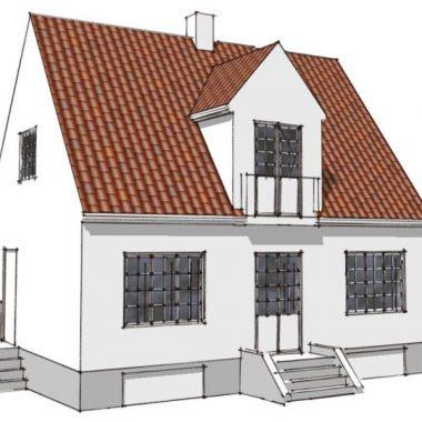 Tilbygning til ældre villa - Arkinaut Arkitekt- og byggerådgivning Aps 01