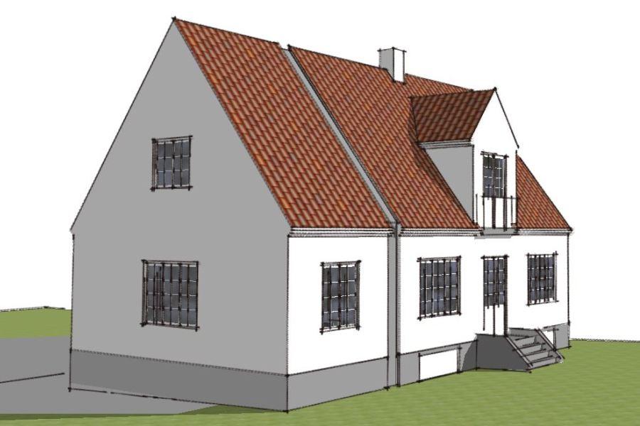 Tilbygning til ældre villa - Arkinaut Arkitekt- og byggerådgivning Aps 02