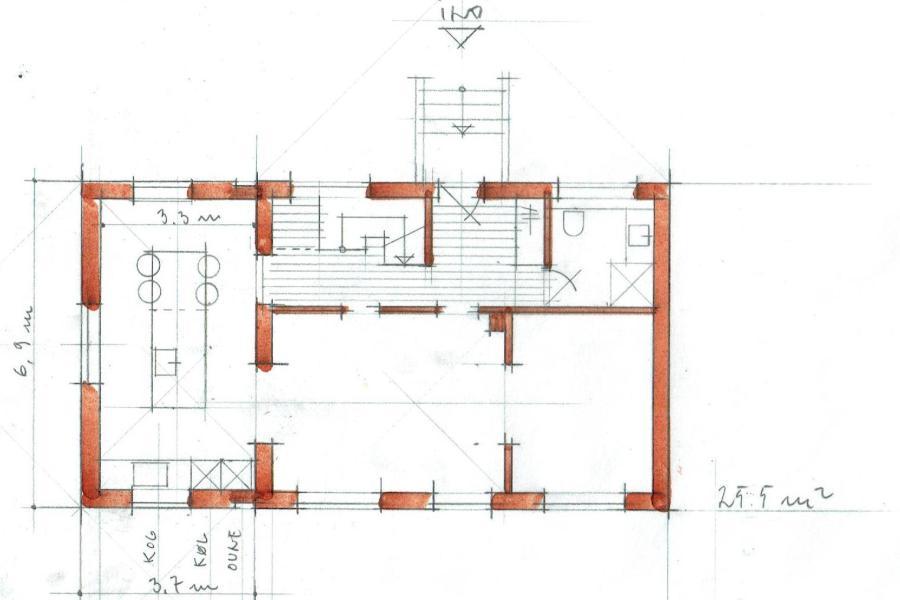Tilbygning til ældre villa - Arkinaut Arkitekt- og byggerådgivning Aps 05