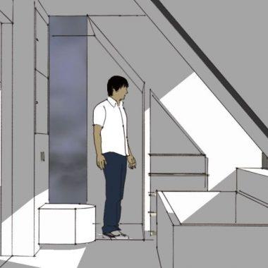 Renovering af badeværelse og etablering af ny kvist - Arkinaut Arkitekt- og byggerådgivning Aps 02