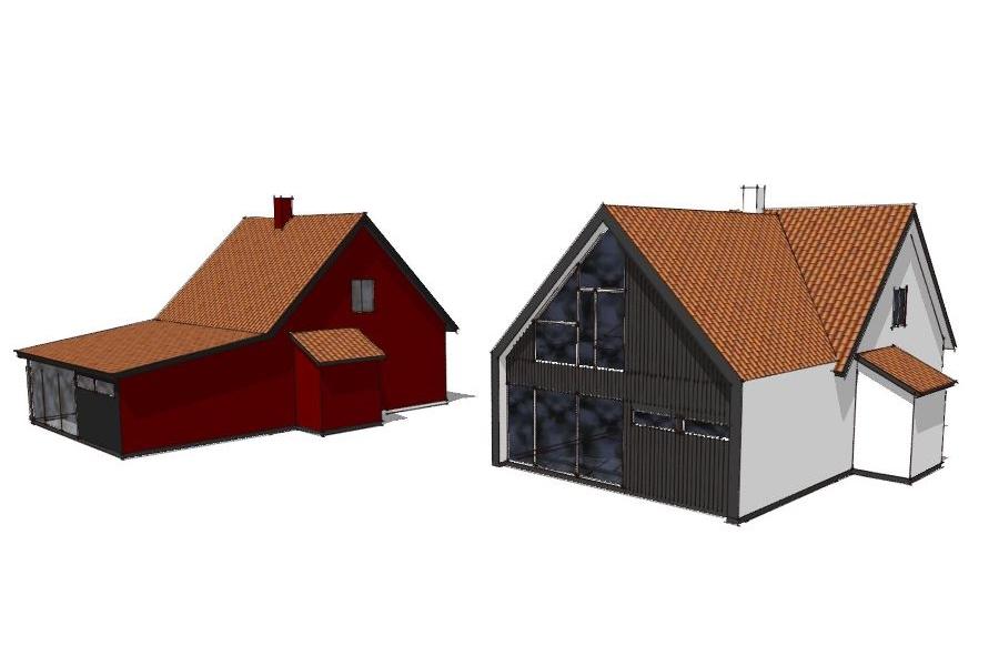 Ny 1. sal på eksist. udbygning - Arkinaut Arkitekt- og byggerådgivning Aps 04