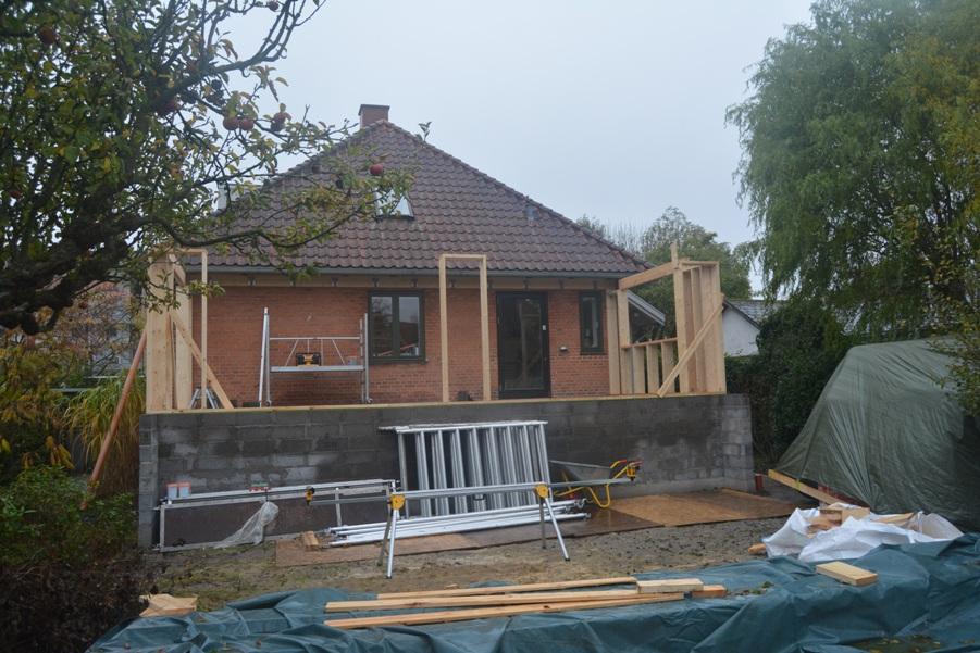 Moderne træ tilbygning - Arkinaut Arkitekt- og byggerådgivning ApS