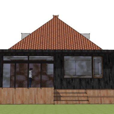 Tilbygning i moderne stil - Arkinaut Arkitekt- og byggerådgivning Aps 02