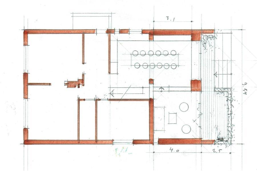 Tilbygning i moderne stil - Arkinaut Arkitekt- og byggerådgivning Aps 06