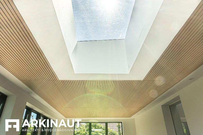 Tilbygning med sort træbeklædning - Arkinaut Arkitekt- og byggerådgivning ApS 7