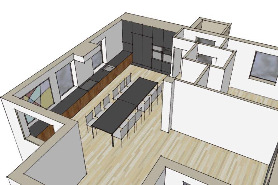 Stilskifte, facaderenovering og køkkenombygning i bungalow - Arkinaut Aps 03