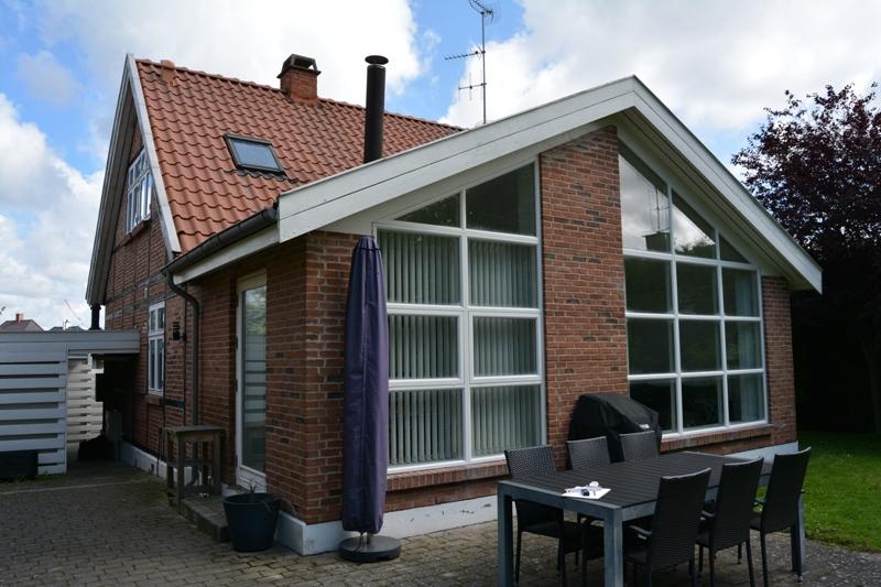 Før foto af hus inden tilbygning - Arkinaut ApS