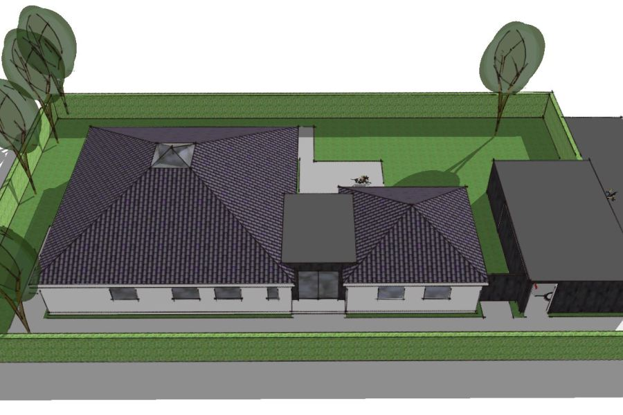 Tilbygning til pyramidetag - Arkinaut Arkitekt- og byggerådgivning Aps 02