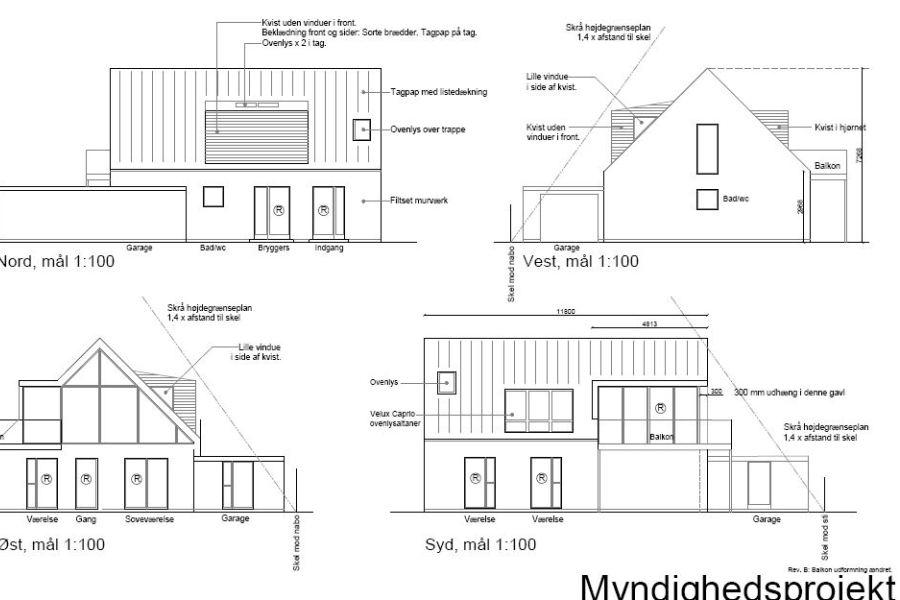 Køkken/alrum på 1. sal - Ombygning - Arkinaut Arkitekt- og byggerådgivning Aps 08