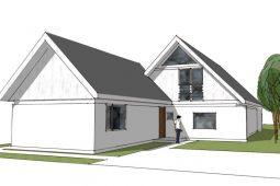 Tilbygning samme stil - Arkinaut Arkitekt- og byggerådgivning Aps