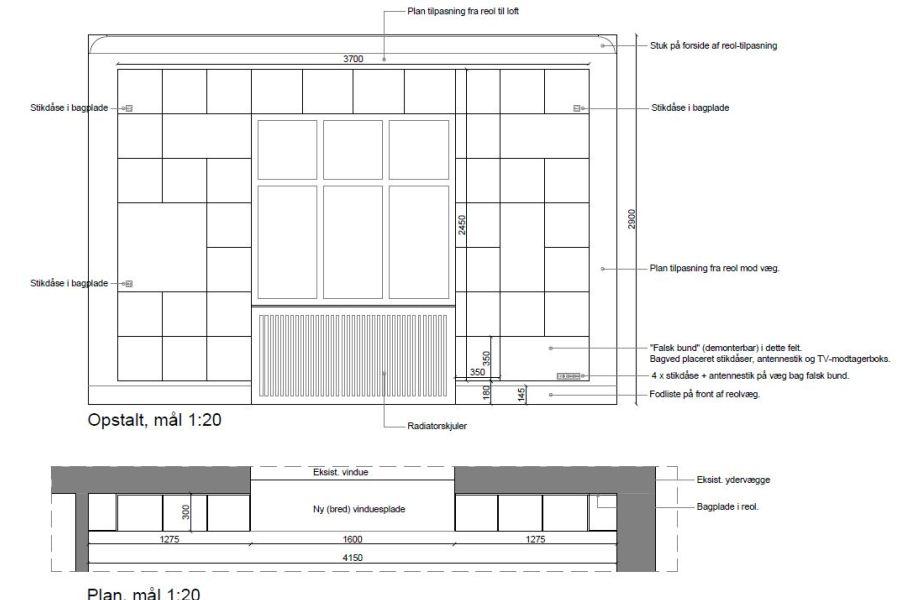 Kvist, badeværelse, køkken m.v. - Arkinaut Arkitekt- og byggerådgivning Aps 01