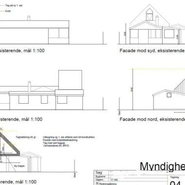 Ny første sal på haveforeningshus - Arkinaut Arkitekt- og byggerådgivning Aps