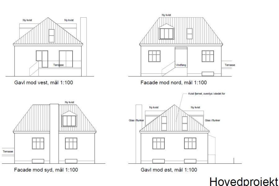 Kvist, badeværelse, køkken m.v. - Arkinaut Arkitekt- og byggerådgivning Aps 03