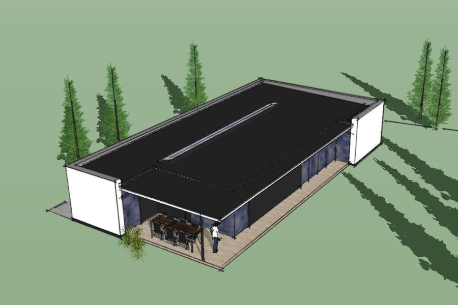 Nyt enfamiliehus Villa Marina - Arkinaut Arkitekt- og byggerådgivning Aps 02