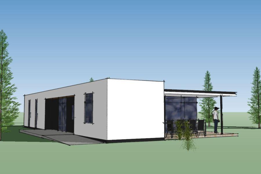 Nyt enfamiliehus Villa Marina - Arkinaut Arkitekt- og byggerådgivning Aps 03