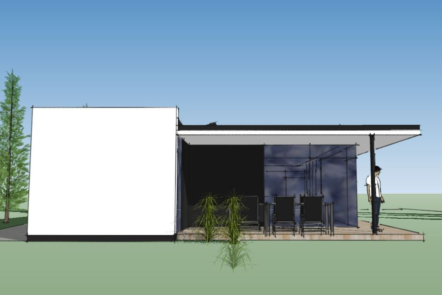 Nyt enfamiliehus Villa Marina - Arkinaut Arkitekt- og byggerådgivning Aps 04
