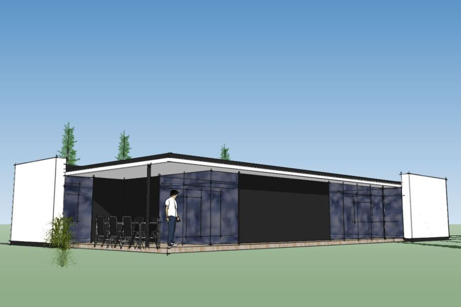 Nyt enfamiliehus Villa Marina - Arkinaut Arkitekt- og byggerådgivning Aps 05