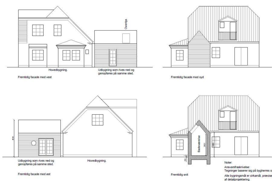 Tilbygning uden at røre eksisterende tag - Arkinaut Arkitekt- og byggerådgivning Aps 03