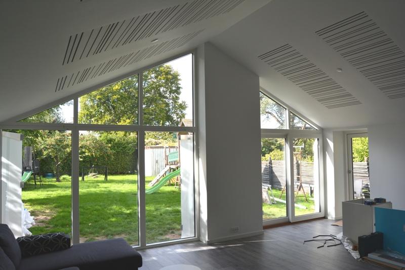 Tilbygning med køkken/alrum og stue - Arkinaut Arkitekt og byggerådgivning ApS