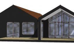 Tilbygning til parcelhus - Arkinaut Arkitekt- og byggerådgivning Aps
