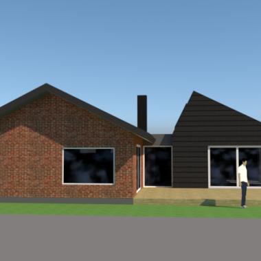 Tilbygning til 50'er hus - ARKINAUT Arkitekt- og Byggerådgivning Aps 4