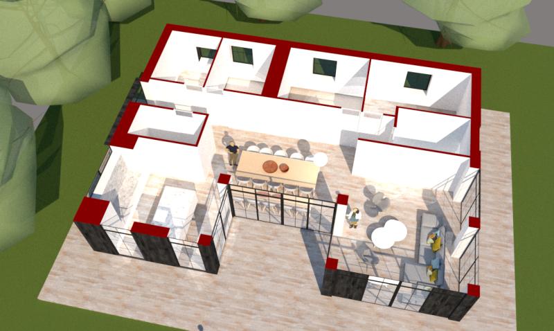 Arkitekttegnet sommerhus - Arkinaut Arkitekt- og byggerådgivning ApS 4