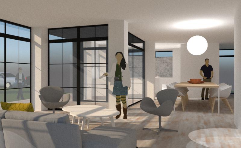Arkitekttegnet sommerhus - Arkinaut Arkitekt- og byggerådgivning ApS