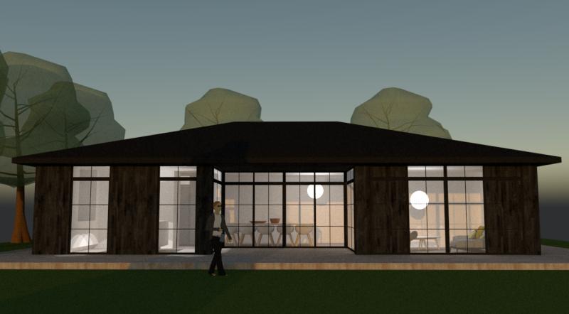 Arkitekttegnet sommerhus - Arkinaut Arkitekt- og byggerådgivning ApS 3