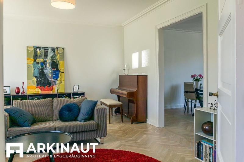 Renovering af rækkehus - Arkinaut Arkitekt- og byggerådgivning ApS 5