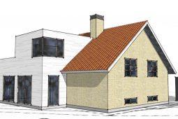 Tilbygning til 50'er villa
