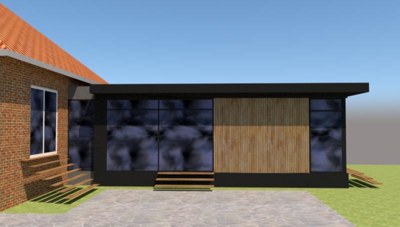 Tilbygning til murermestervilla - Arkinaut arkitekt- og byggerådgivning aps 1
